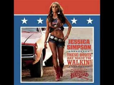 Jessica Simpson - These Boots Are Made For Walking - YouTube