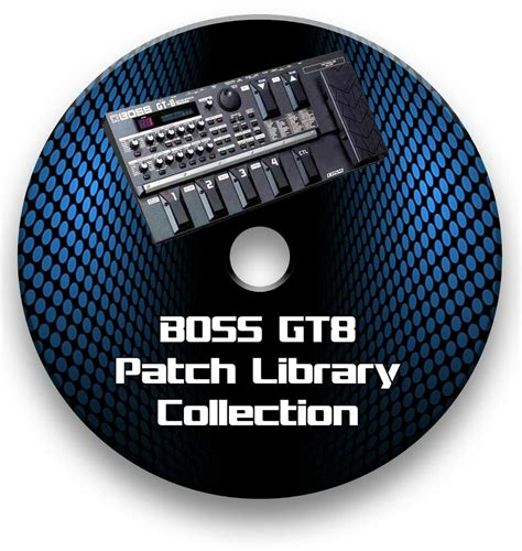 BOSS GT-8 - BIGGEST & EXCLUSIVE PATCH LIBRARY GUITAR