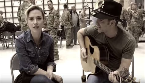 """Scarlett Johansson Sings """"These Boots Are Made for Walkin"""